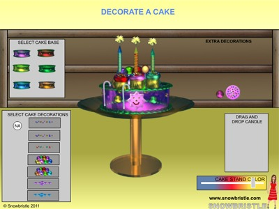 Decorate a cake preview