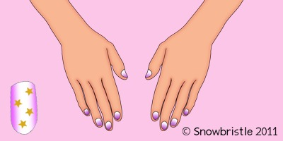 Decorate Hands and Nails
