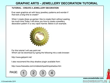 Graphic arts jewellery decoration preview