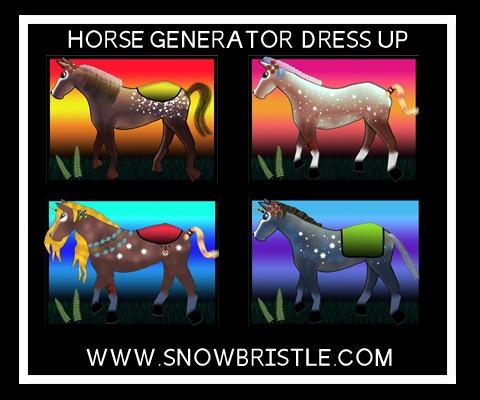 Horse Generator Dress Up