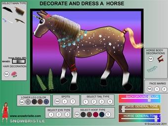 preview update decorate and dress up a horse