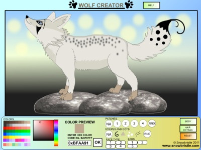 wolf creator animal maker