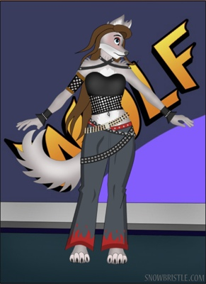 anthro maker wolf style