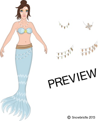 dressup a beautiful mermaid game
