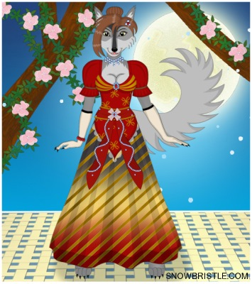 Wolf Furry Fursona Maker