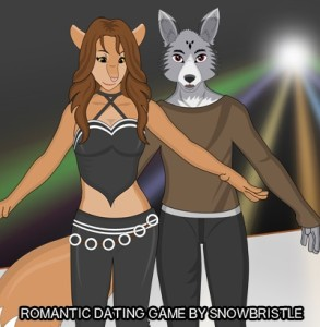 feline wolf anthro dating game